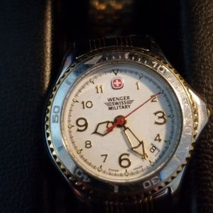 Swiss Army  Ladies Stainless Steel with box